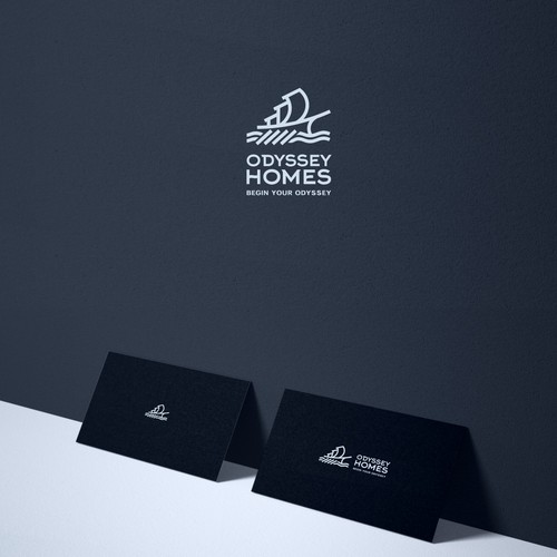 Odyssey Homes  Business Logo