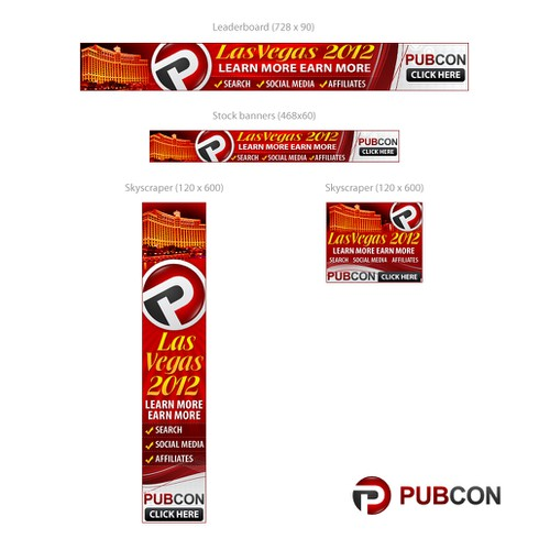 Banner Ad Campaign Creative for Pubcon Conference