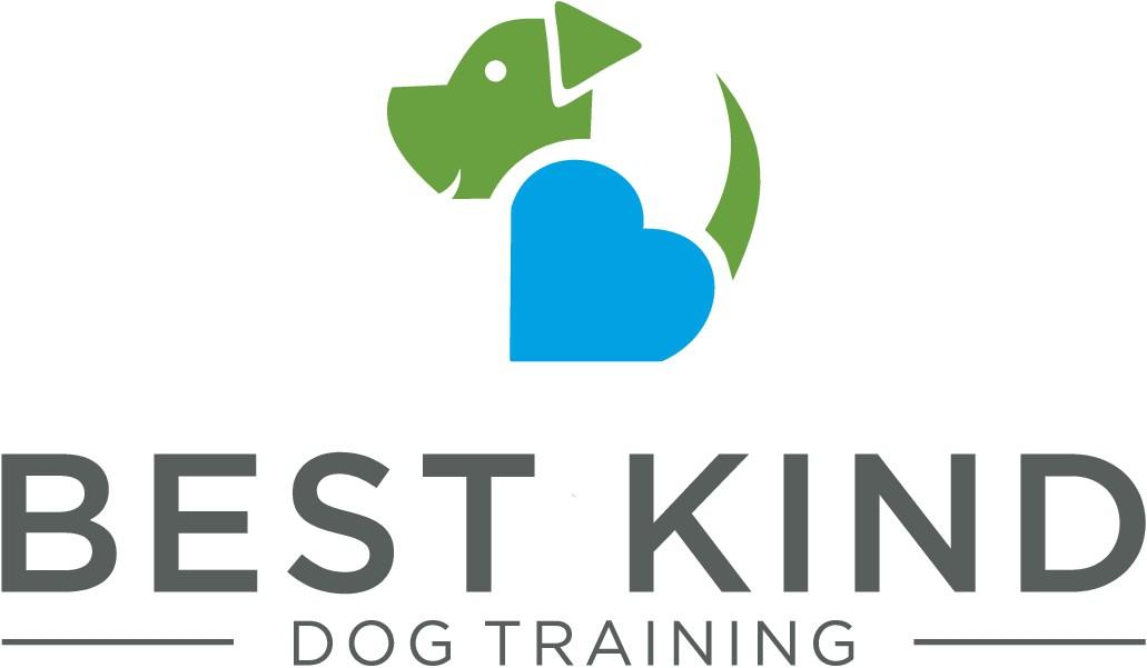 Fun and fresh dog training logo