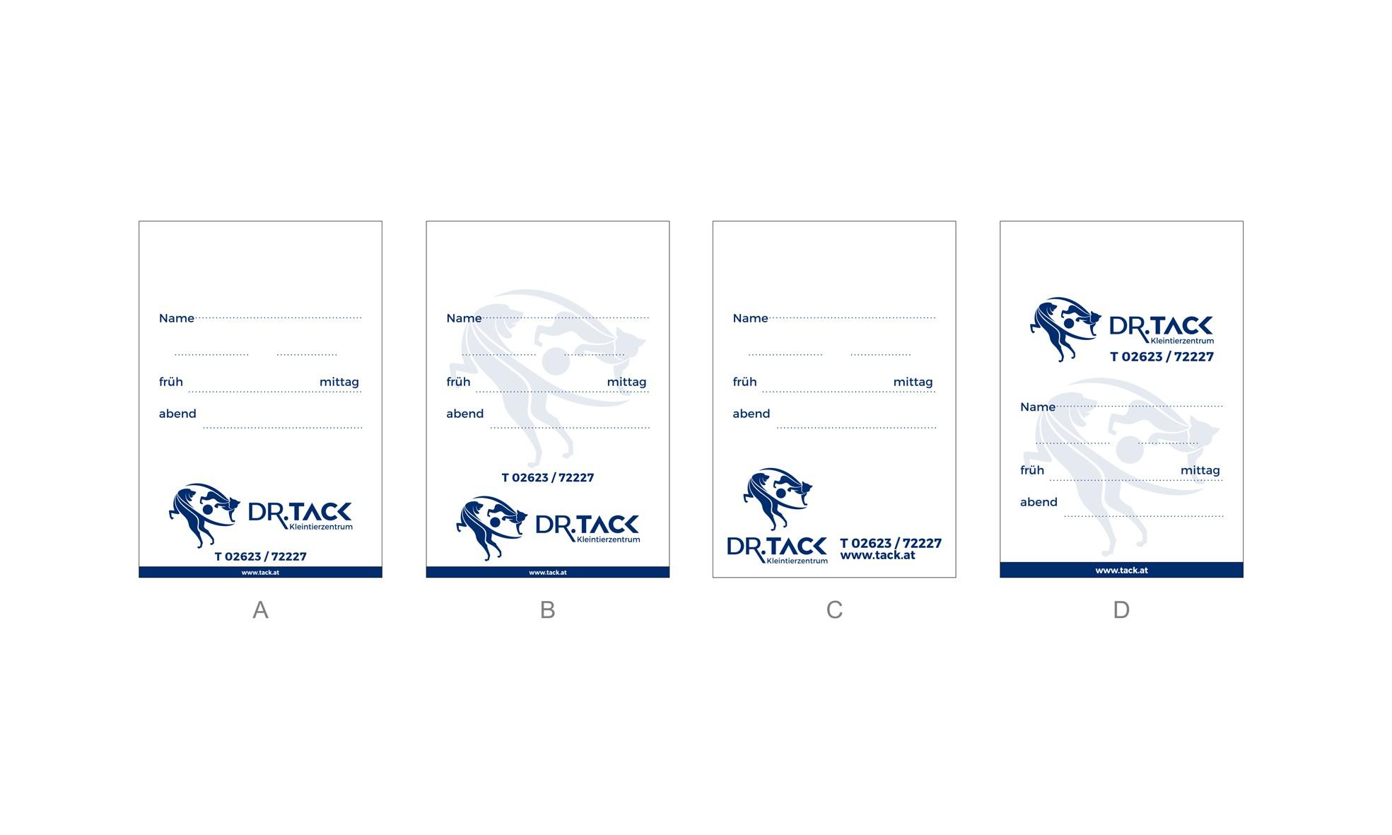 Business Card and Flat Bag Design