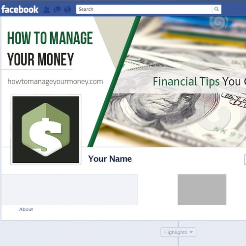 How to manage your money.com Facebook cover