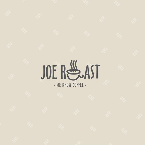 "Logo for  ""Joe Roast""."