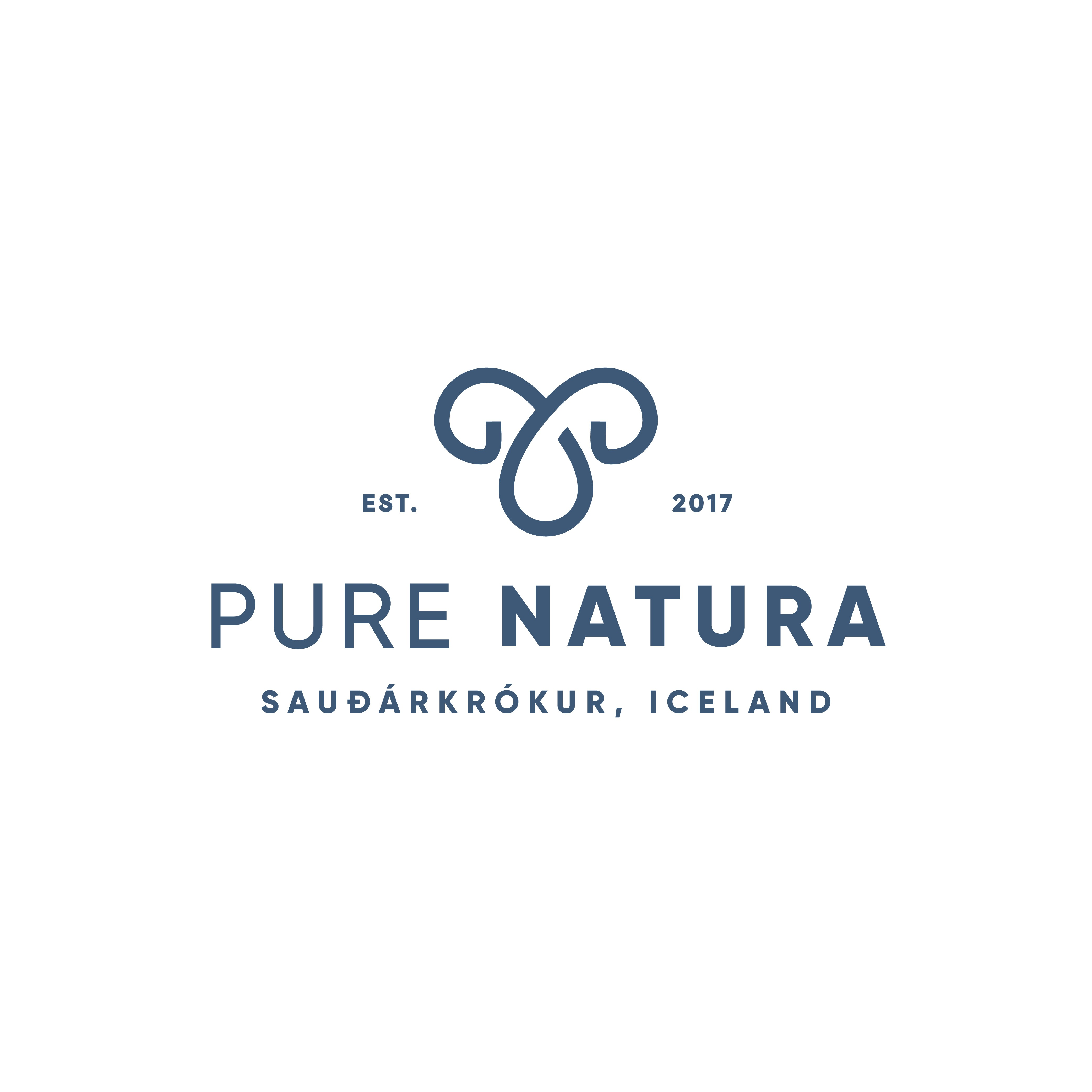 New logo for a food based Icelandic supplement company