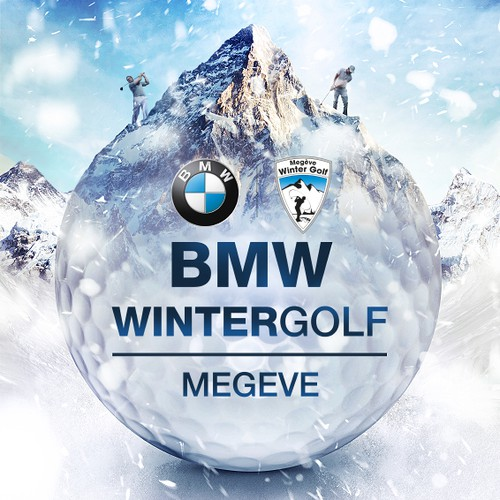 BMW Wintergolf advertising