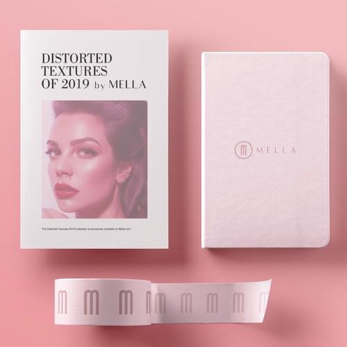 Mella - Lettermark Logo & Stationery Design