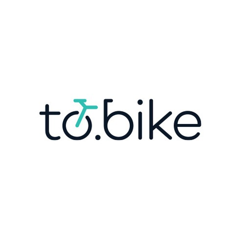 Elegant logo for cyclists community platform