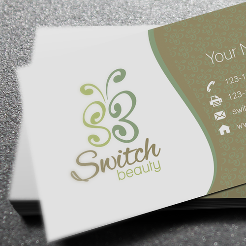 Logo Design For Switch Beauty
