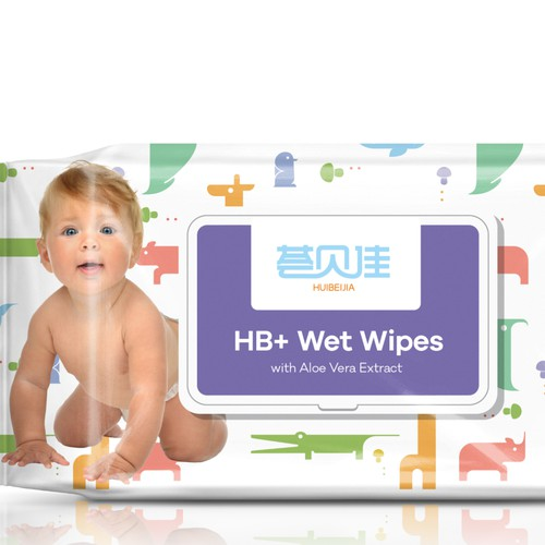 Wet Wipes Design