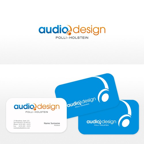 Help Audio-Design Polli-Holstein with a new logo
