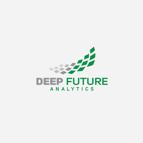 Bold logo for financial analytics company