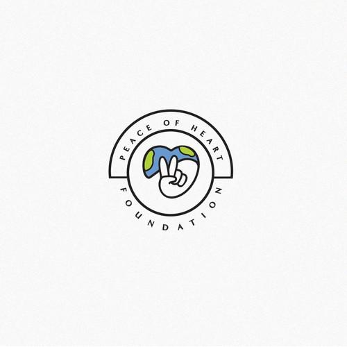 Logo for a humanitarian foundation
