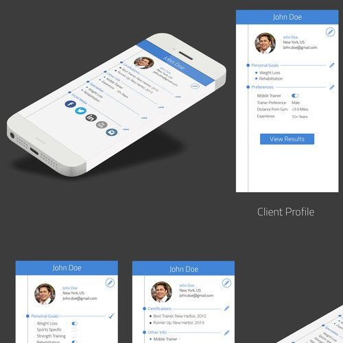 Create a Social Media Fitness App