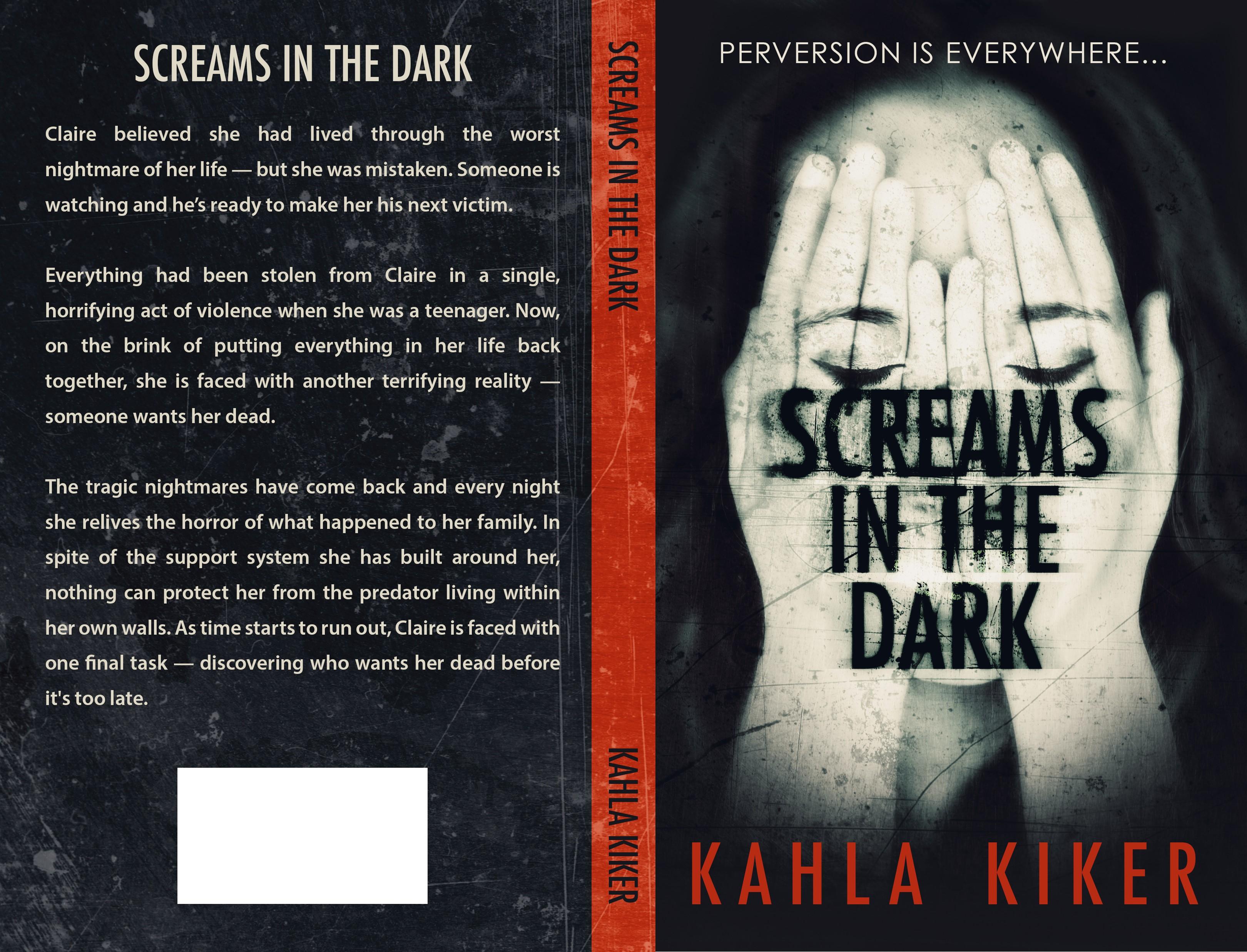 Screams in the Dark book cover needed