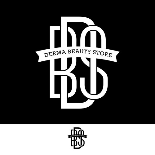 Derma Beauty Store Logo Design
