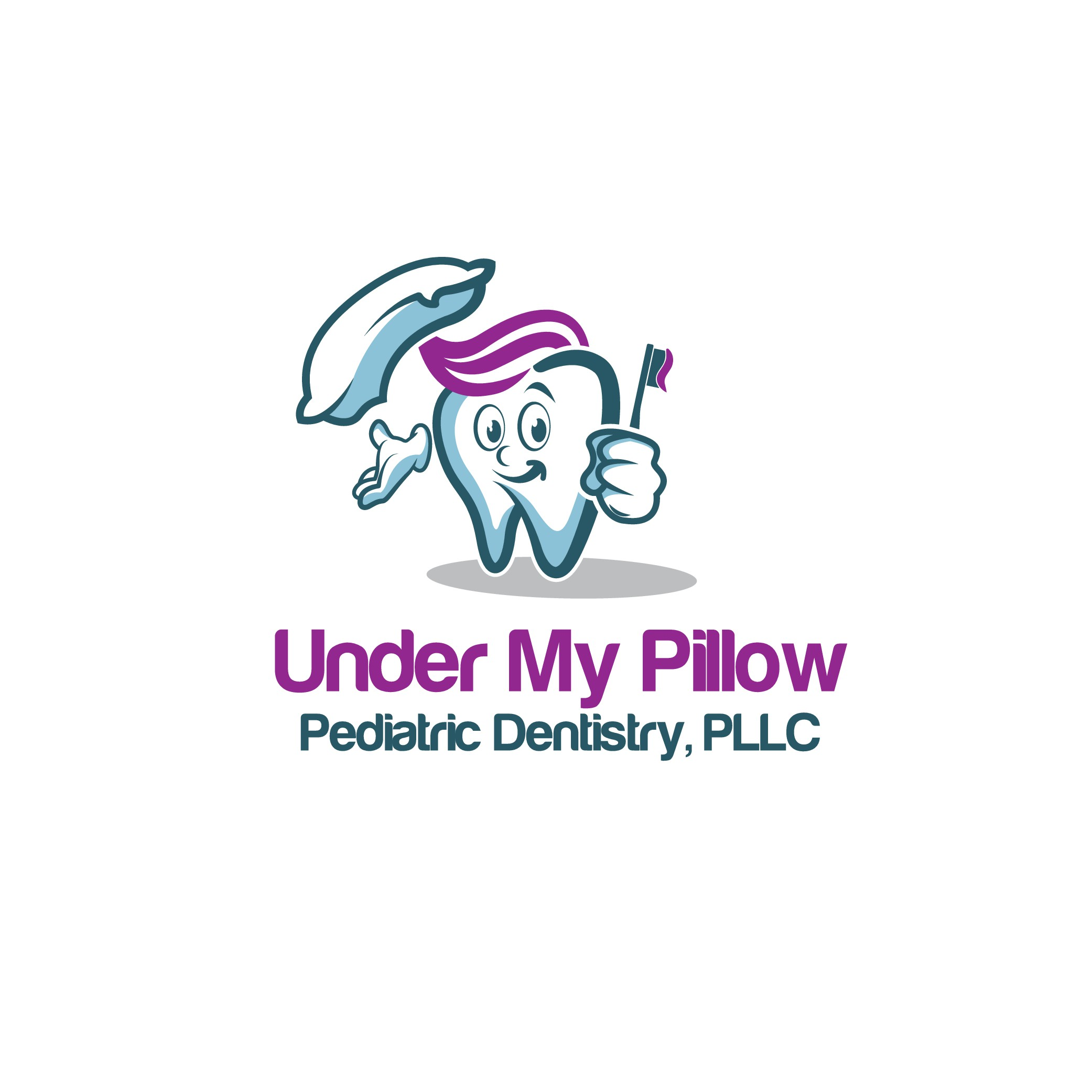 Creating a playful, fun, creative logo for Under My Pillow Pediatric Dentistry