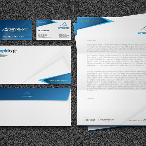 Sharp looking stationery