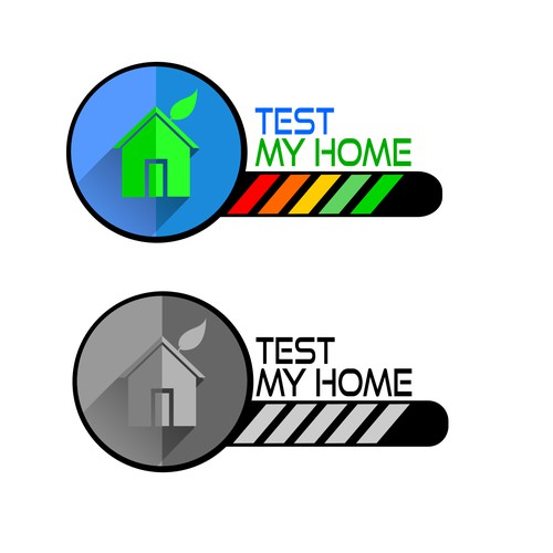 Videogame inspired design for Home Inspection Service