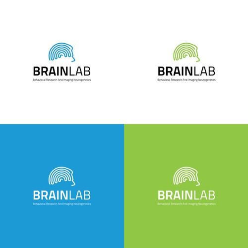 Create the next logo for Behavioral Research And Imaging Neurogenetics (BRAIN) Laboratory. BRAIN Lab.