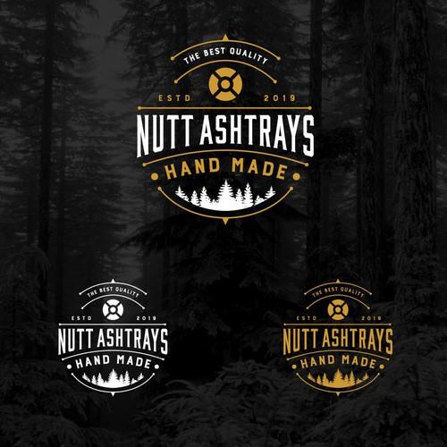 Logo concept for Nutt Ashtrays