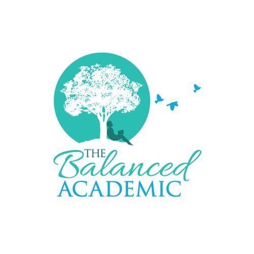 Visually Balanced logo for The Balanced Academic