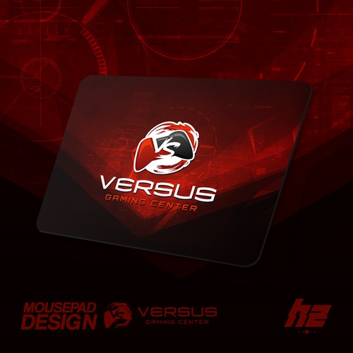 Versus Gaming Center - Custom Mousepad Design