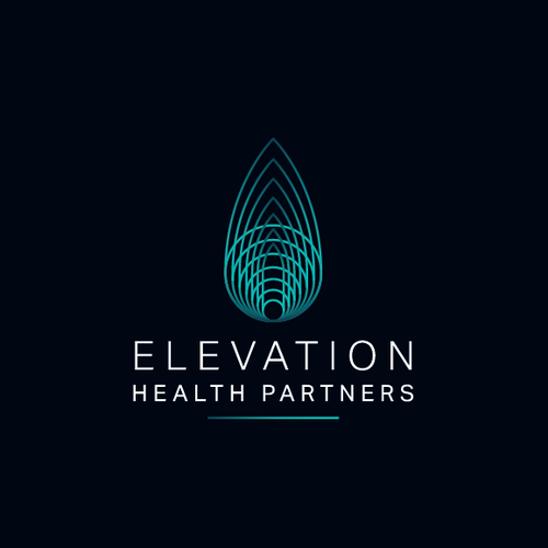 Sophisticated and geometric logo for a healthcare consulting firm.