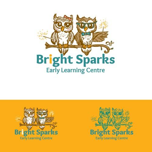 Logo concept for Bright Sparks