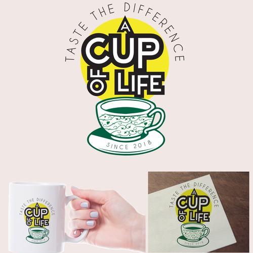 Modern Coffee shop logo