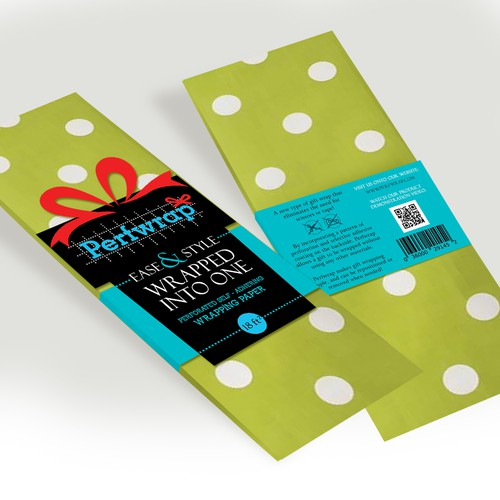 Pefrwrap - pefrorated wrapping paper