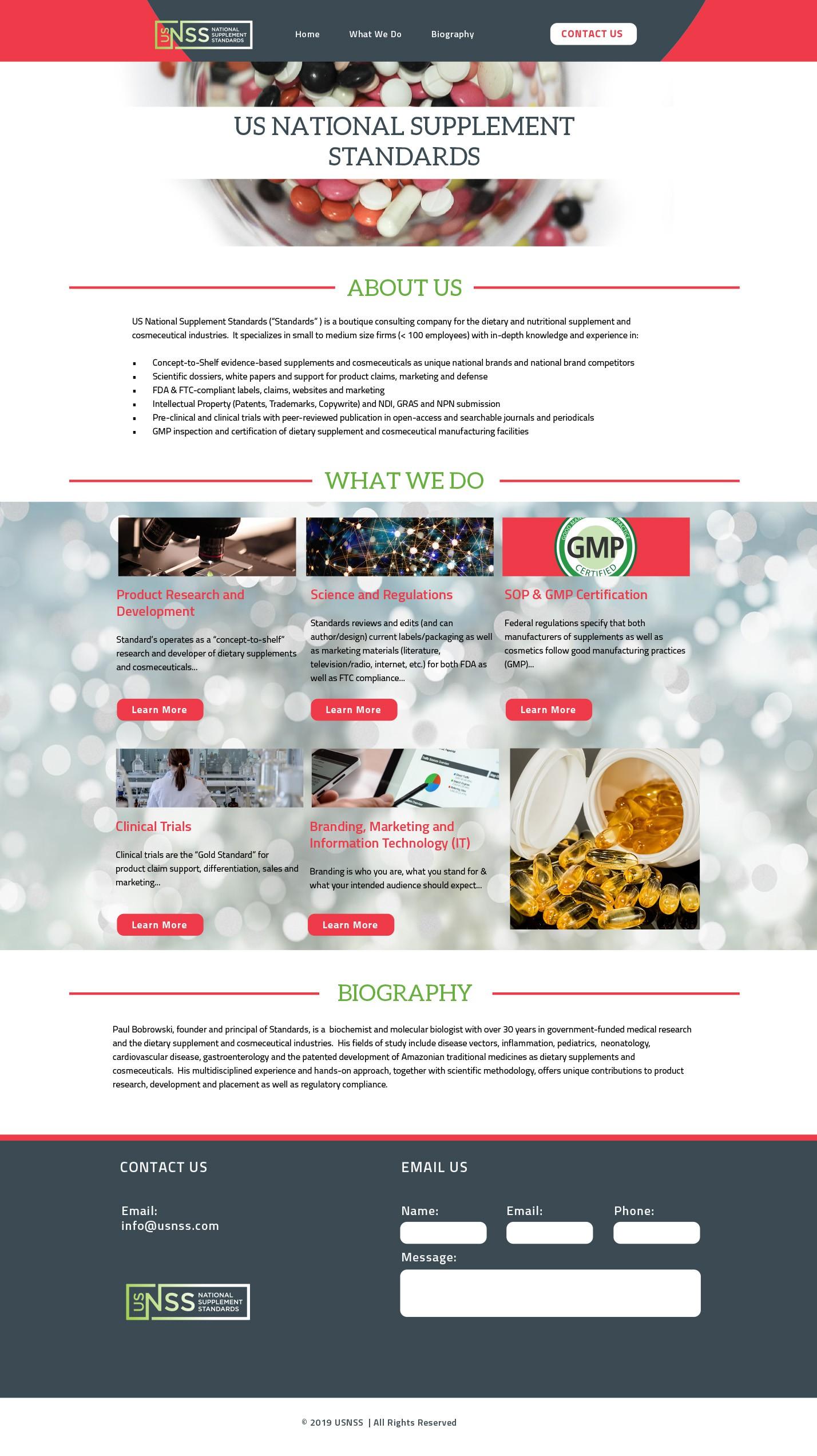 USNSS Website