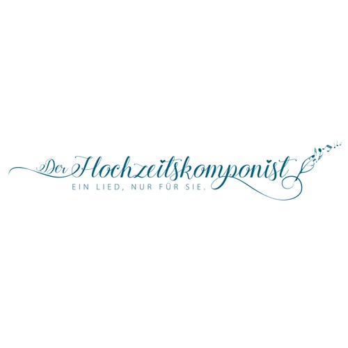 Logo for the first wedding composer