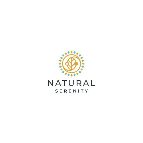 Natural Serenity Logo Concept