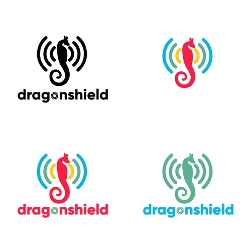 Playful logo concept for safety-enhanced wifi router