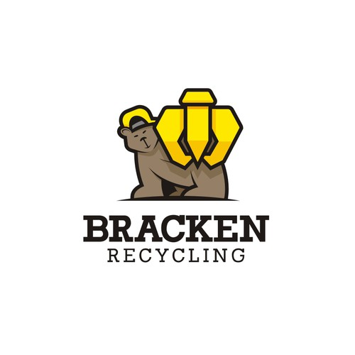 Metal recycling logo