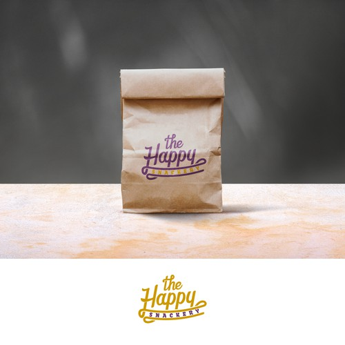 Logo for bag of sweets