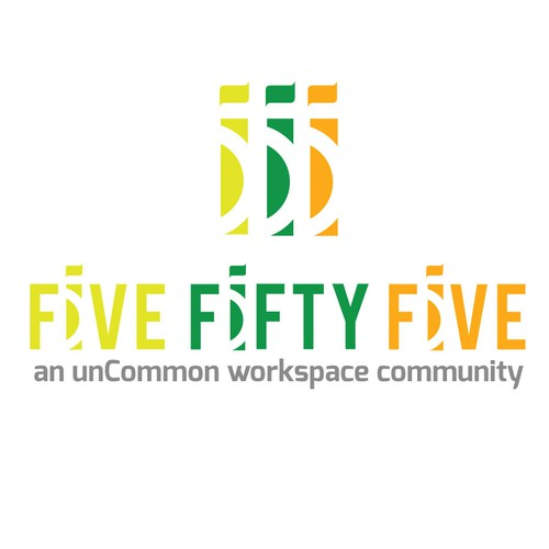 concept logo for Five Fifty Five