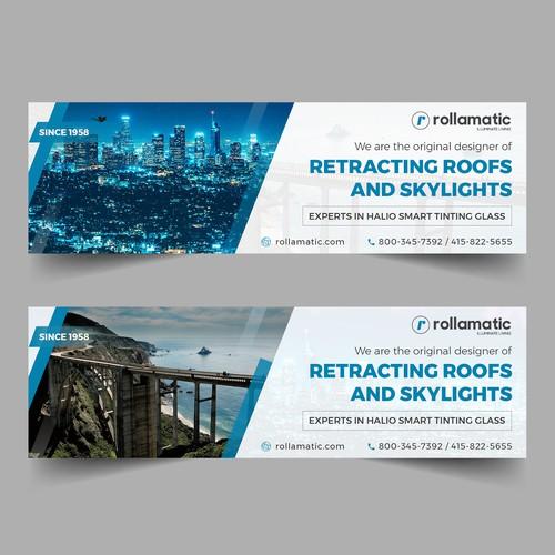 LinkedIn Banner for Rollamatic