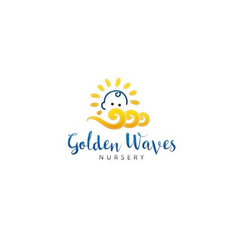 Rejuvenating logo for a nursery