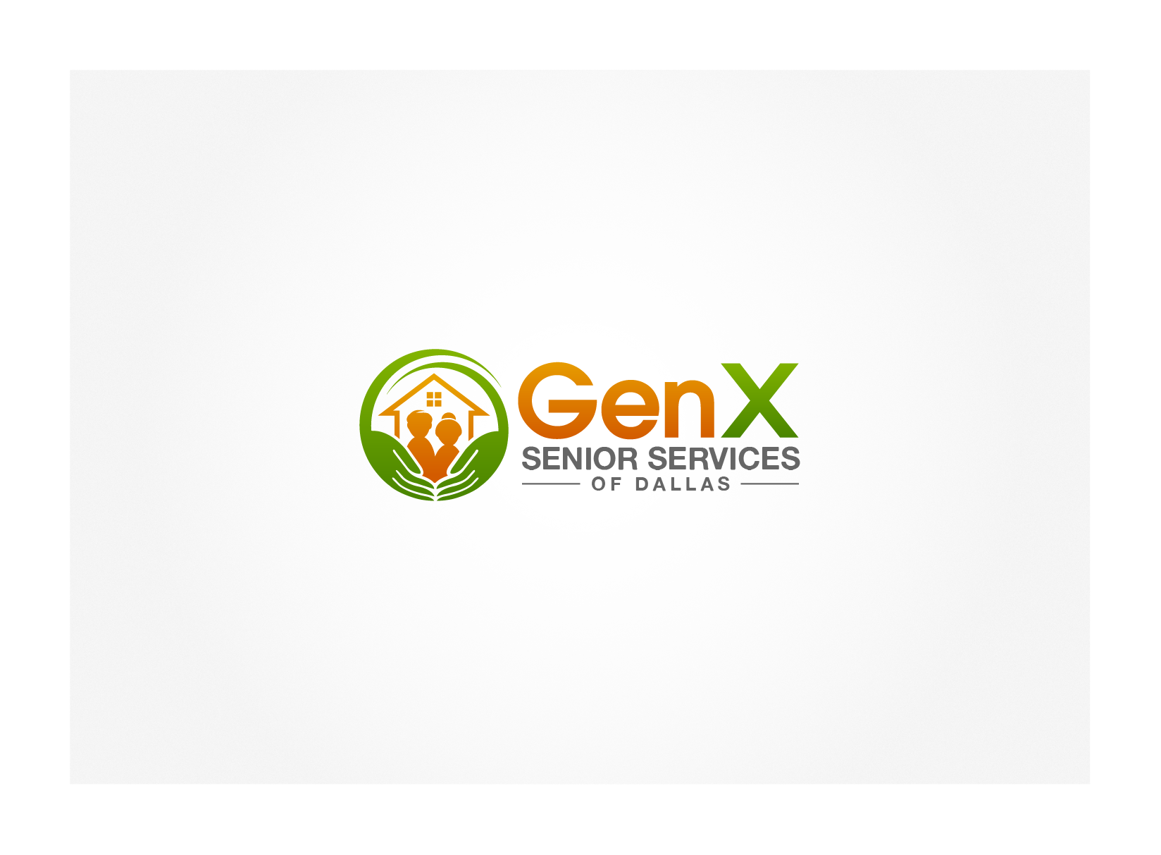 Create the next logo for GenX Senior Services of Dallas