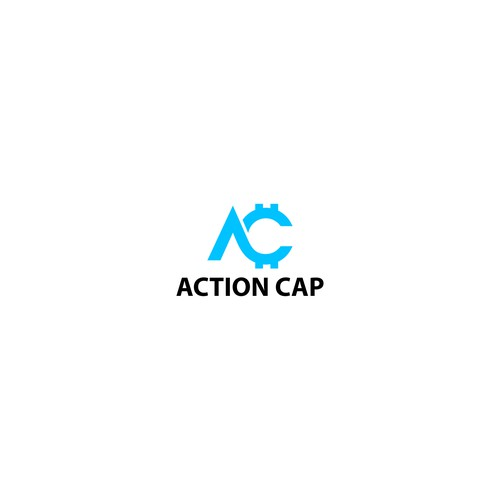 Simple and bold for cryptocurency logo