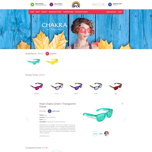 Bright, Colorful, and Beautiful Design Requested for Ecommerce Website