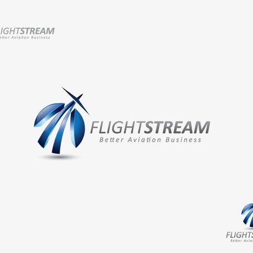 Create the next logo for FlightStream