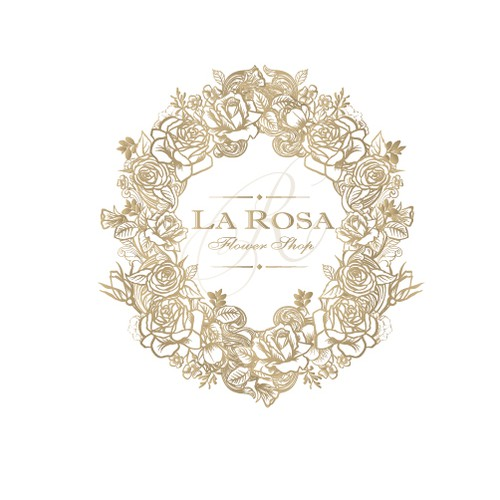 "Logo for ""La Rosa"""
