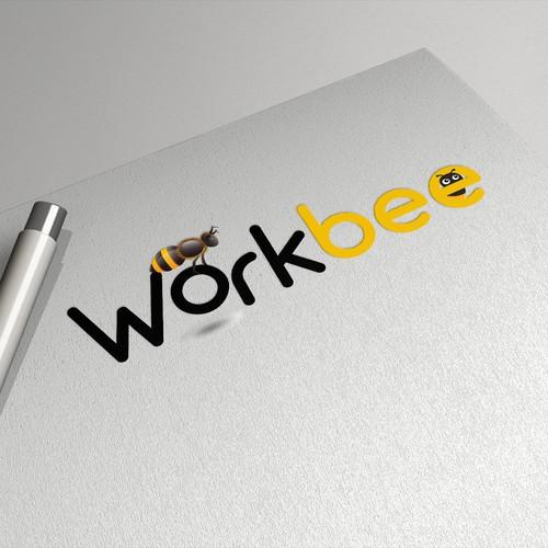 Temporary worker logo for workbee