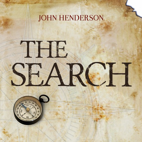 "Cover book ""The Search"""