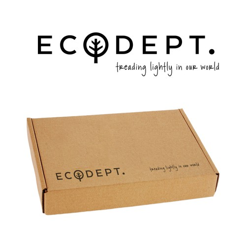 Create a logo for ECOdept to go on the new travellers' towel