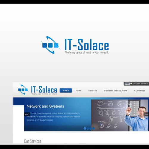 logo for IT-Solace