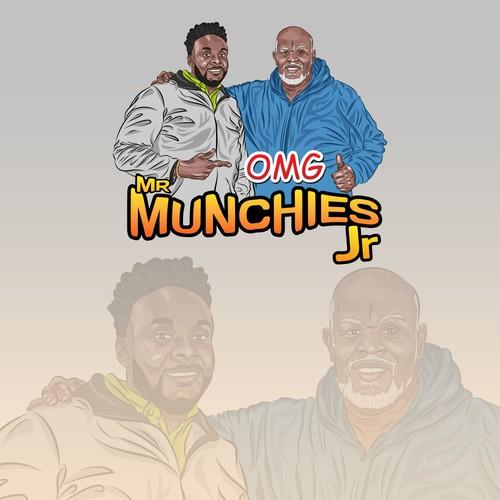 Logo Design for Mr Munchies Jr