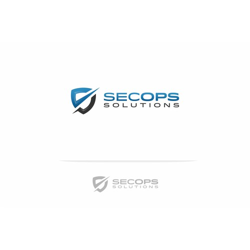 Create a logo for use on business cards and possibly a website for SecOps Solutions