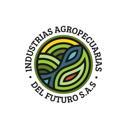 Logo for agriculture company